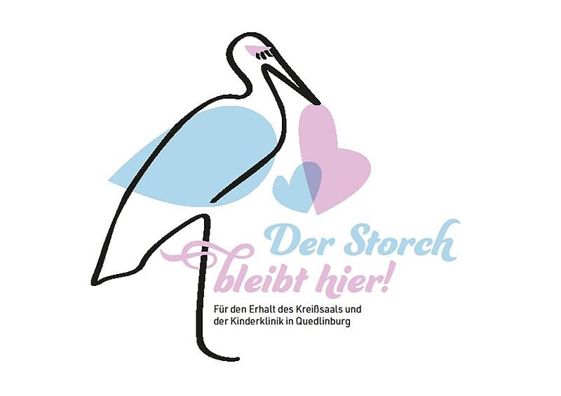 Der Storch bleibt hier! – Harzer GRÜNE starten Mitmach Aktion für den Erhalt von Kreißsaal und Kinderklinik in Quedlinburg