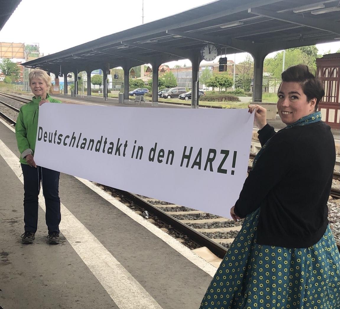 Deutschlandtakt in den Harz